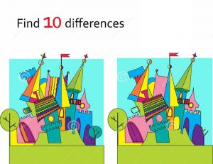 Spot 10 differences between pictures for kids 001