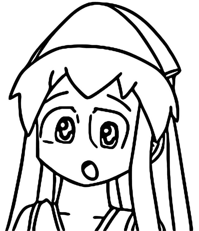 Squid Girl Coloring Page 089
