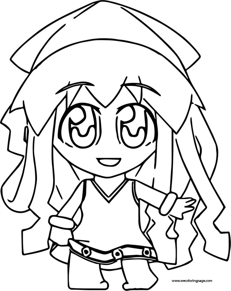 Squid Girl Coloring Page 159