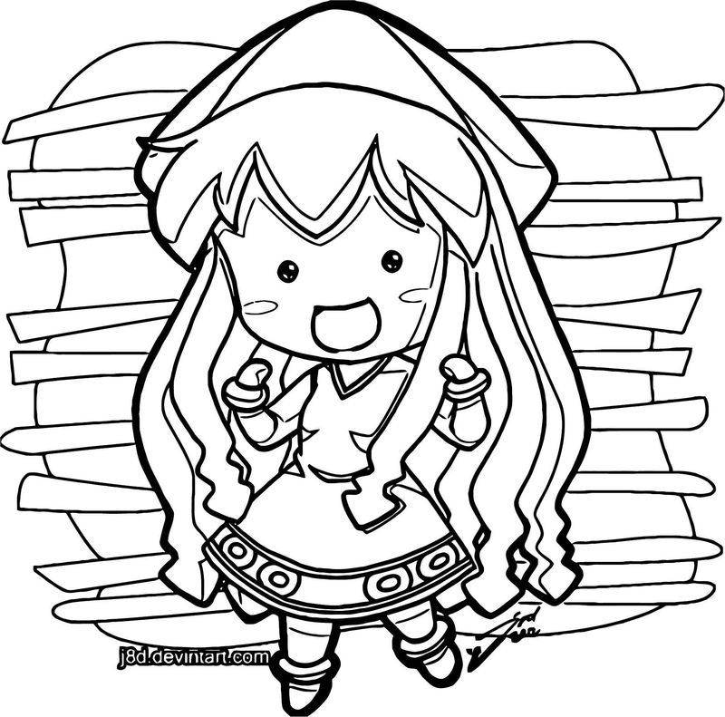 Squid Girl Coloring Page 172
