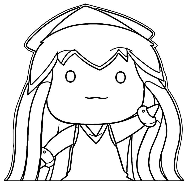 Squid Girl Coloring Page 181