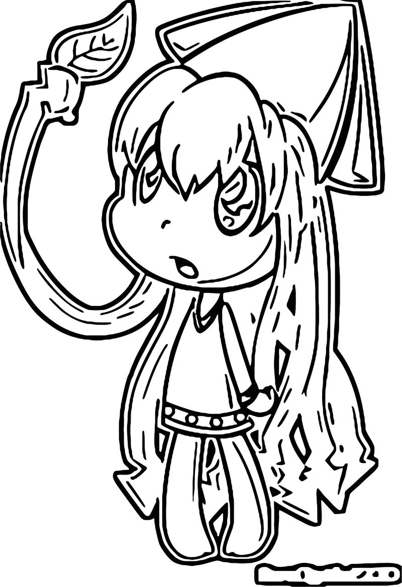 Squid Girl Coloring Page 201