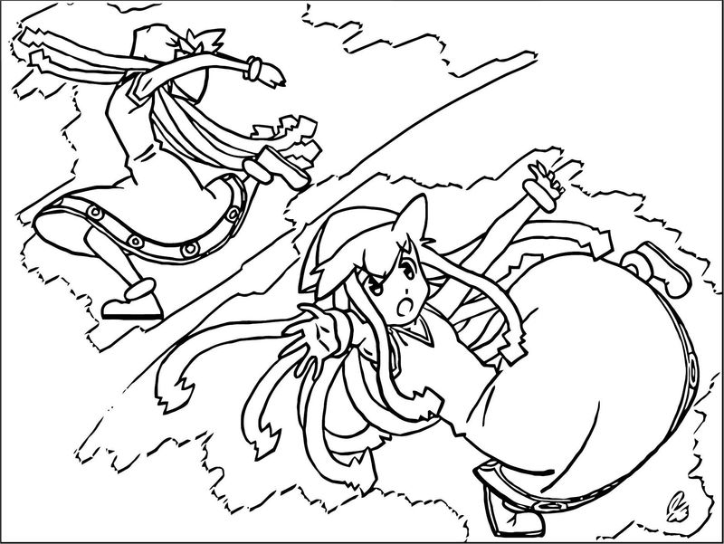 Squid Girl Coloring Page 204