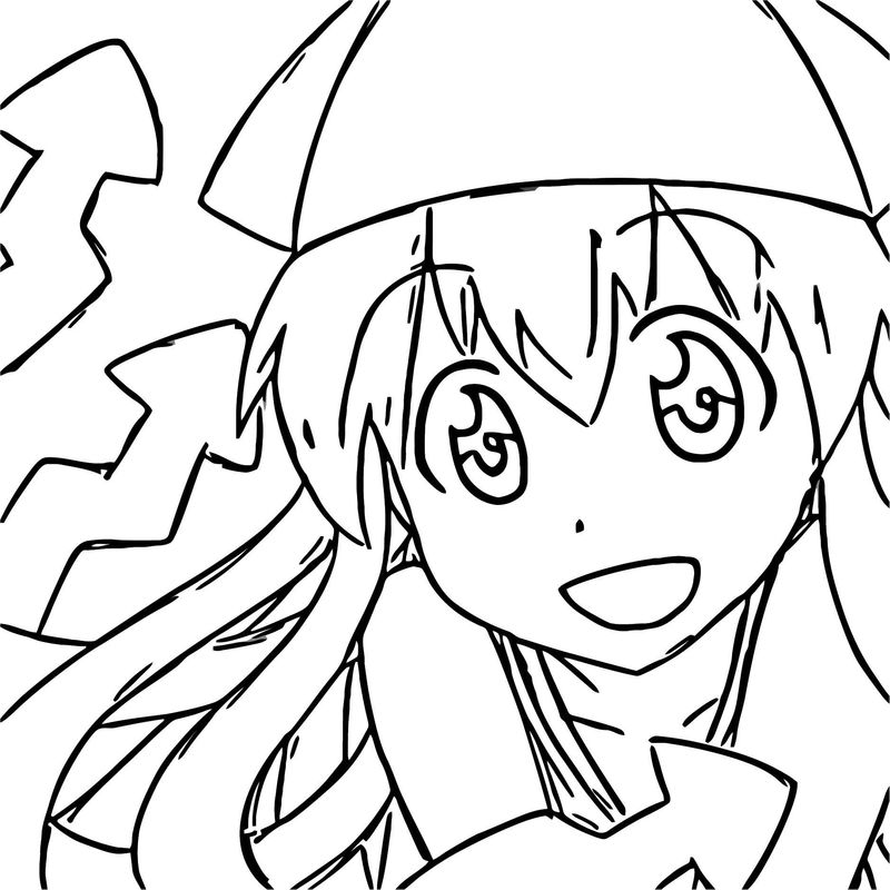 Squid Girl Coloring Page 213