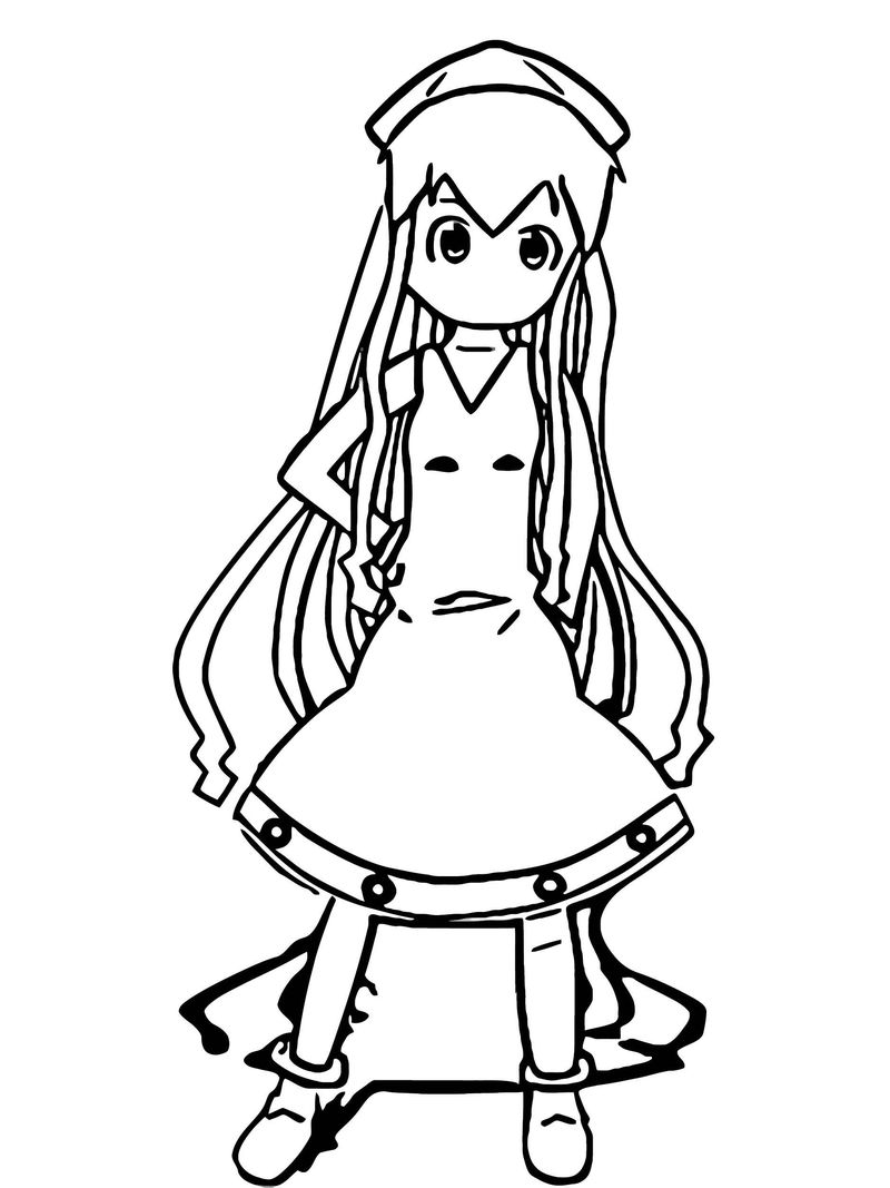 Squid Girl Coloring Page 216