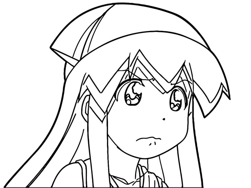 Squid Girl Coloring Page 224