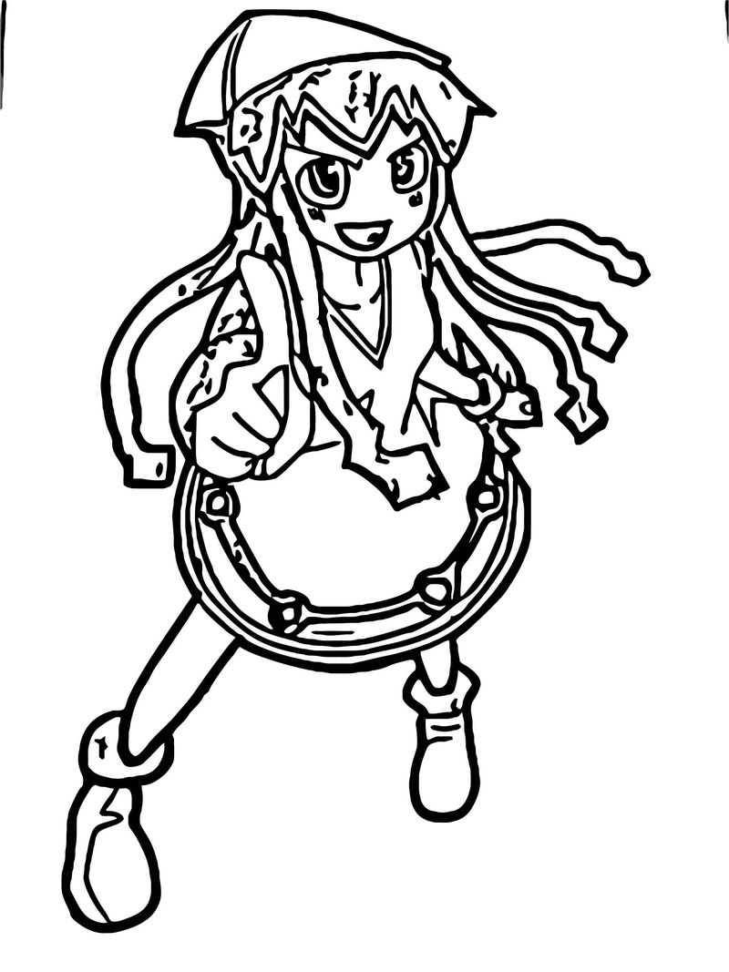 Squid Girl Coloring Page 275