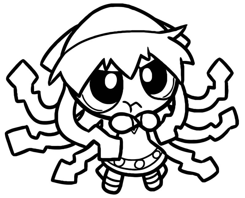 Squid Girl Coloring Page 280