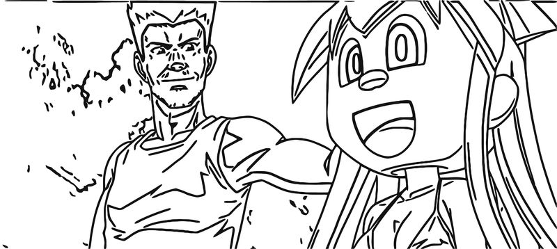 Squid Girl Coloring Page 295