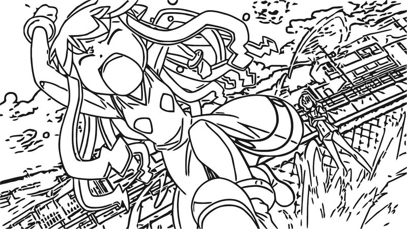 Squid Girl Coloring Page 300