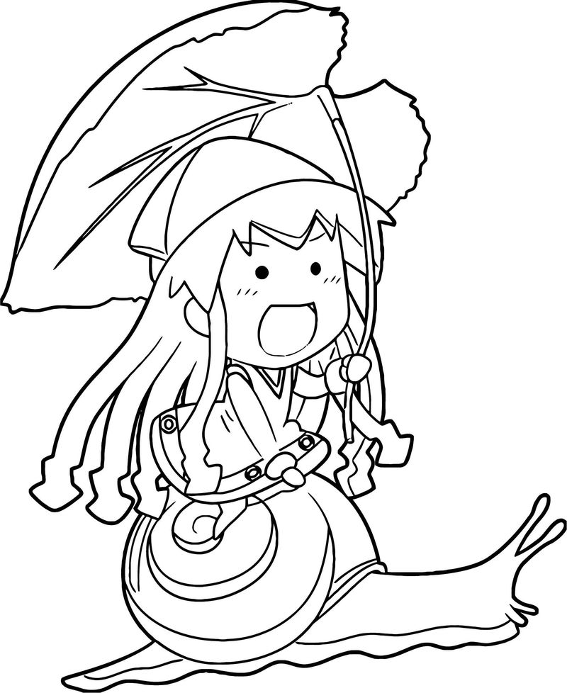 Squid Girl Coloring Page 305