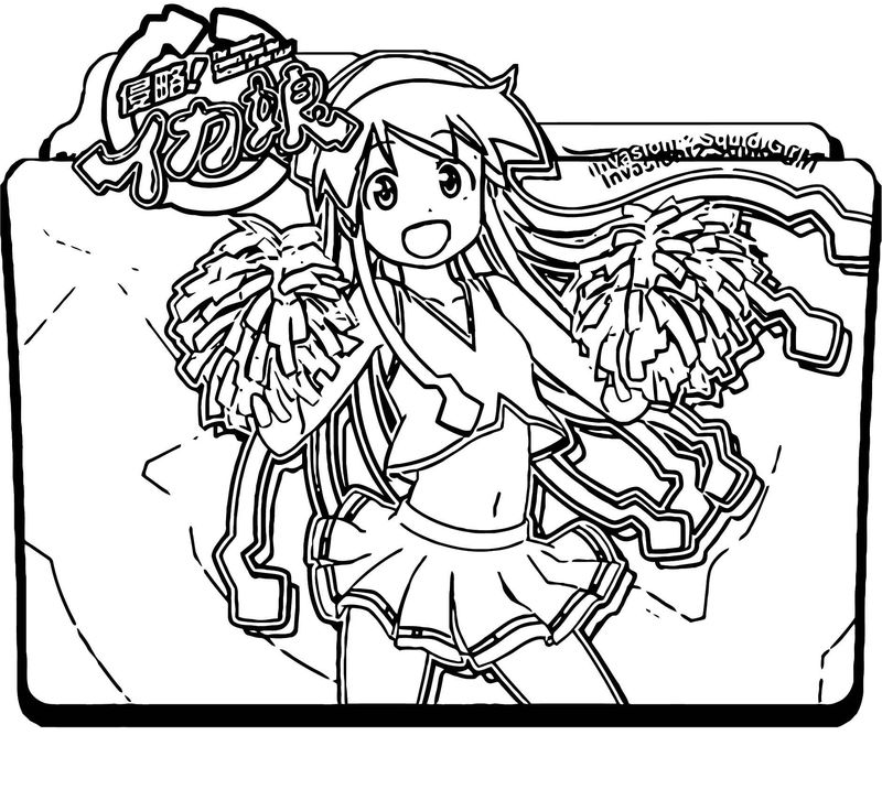 Squid Girl Coloring Page 309