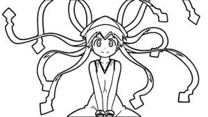 Squid girl coloring page 310