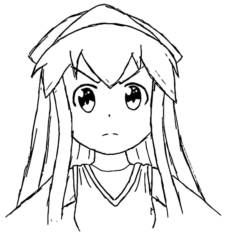 Squid Girl Coloring Page 336