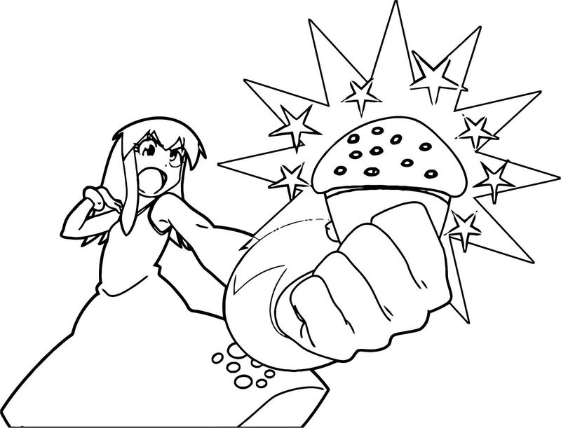 Squid Girl Coloring Page 337 001