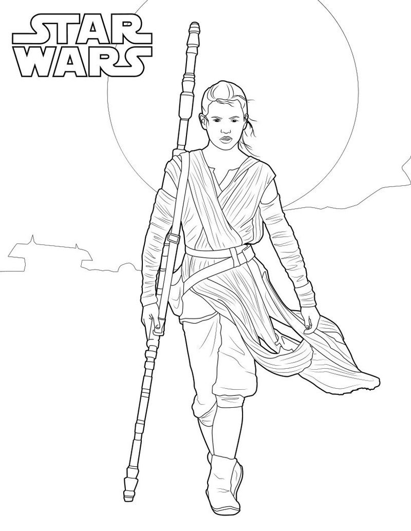 Star Wars Coloring Pages Ffor Kids