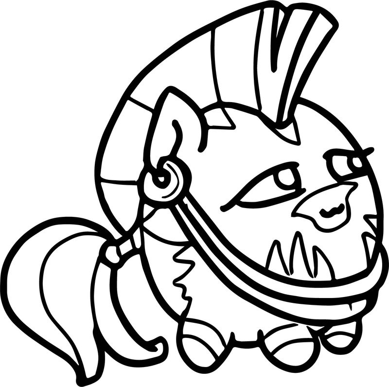 Still Early But Hey Christmas Zecora Coloring Page