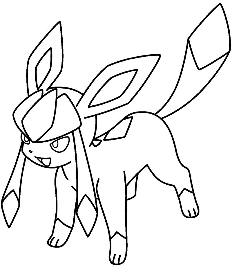 Sylveon Coloring Pages Easy