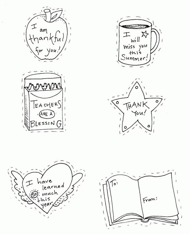 Teacher Coloring Pages 1
