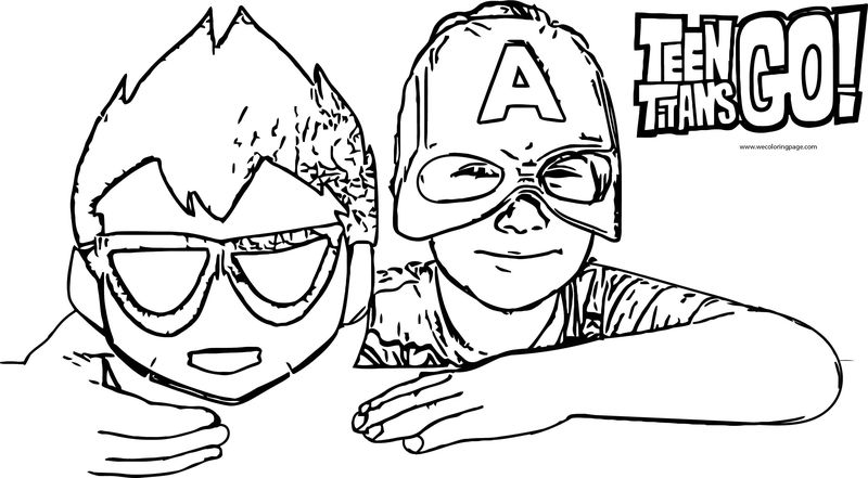 Teen Titans Go Giant Eggs Are The Holy Acme Playdough Robin Raven Starfire Beast Boy Coloring Page