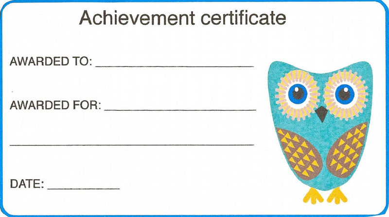 Templates For Kids Certificate