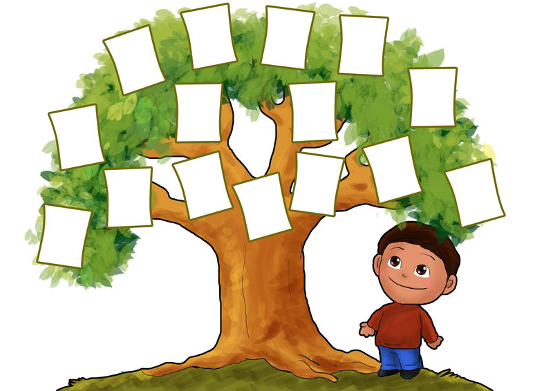 Templates For Kids With A Tree