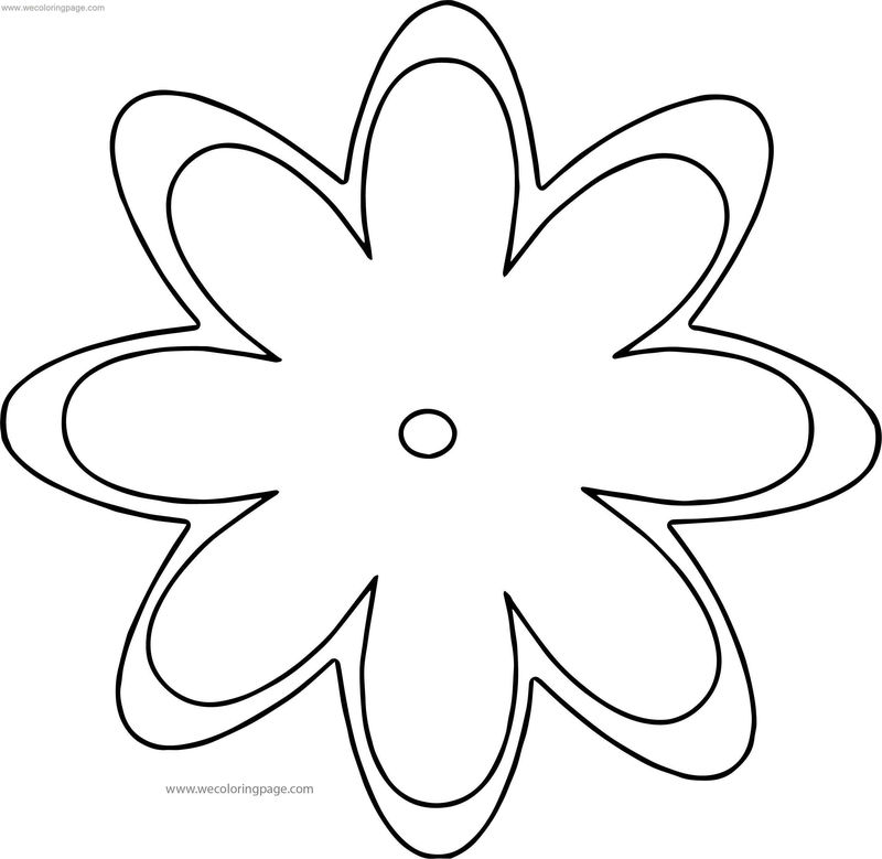 Thai Flowers Coloring Page