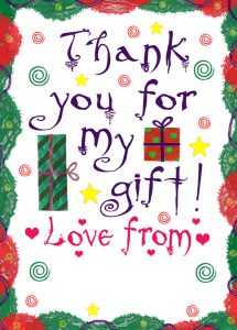 Thank you note template for a gift 3 001