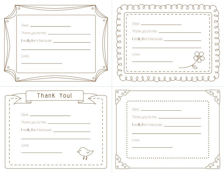 Thank You Note Templates 5 002