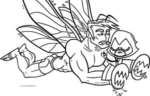The croissant still coloring page