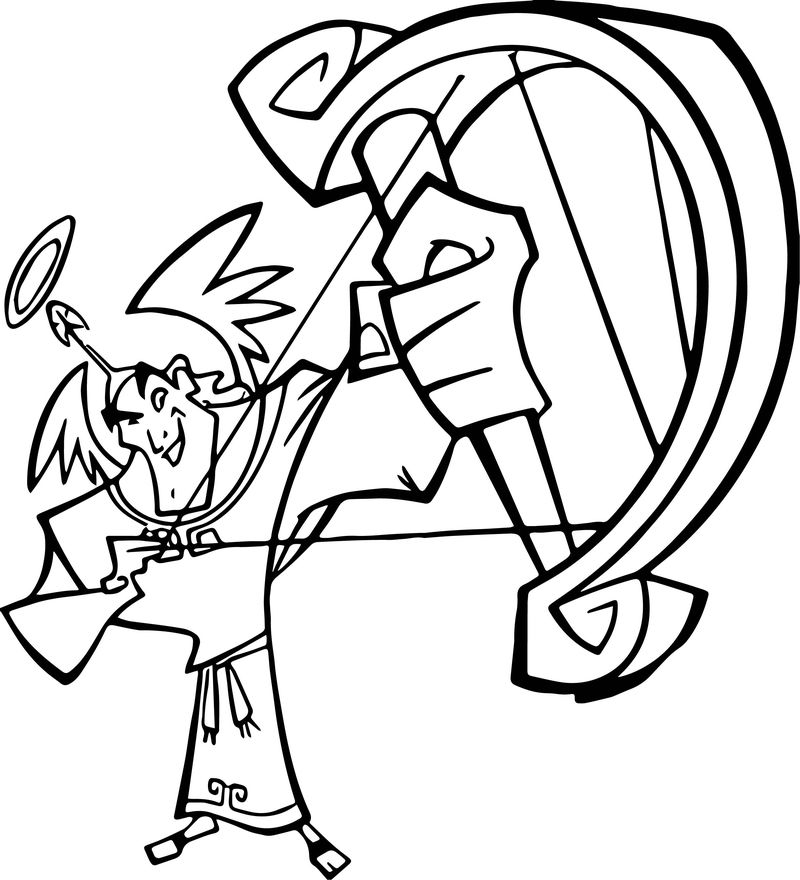 The Emperor New Groove Arrow Disney Coloring Pages