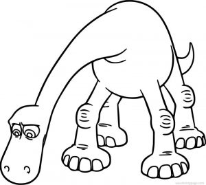 The good dinosaur disney arlo search cartoon coloring pages