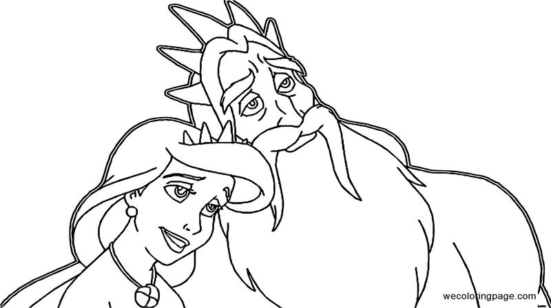 The Little Mermaid Ariels Beginning Coloring Pages 21