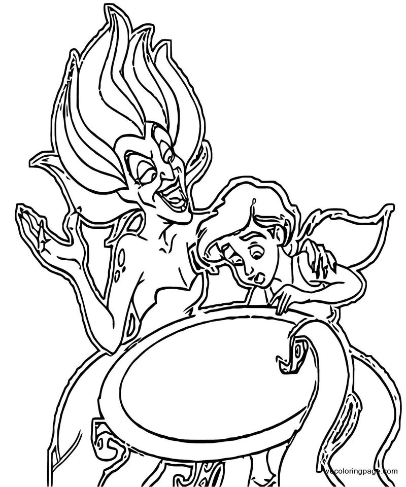 The Little Mermaid Ariels Beginning Coloring Pages 36