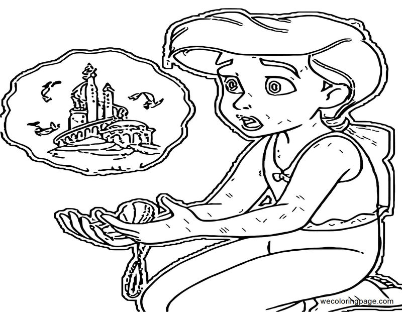 The Little Mermaid Ariels Beginning Coloring Pages 41