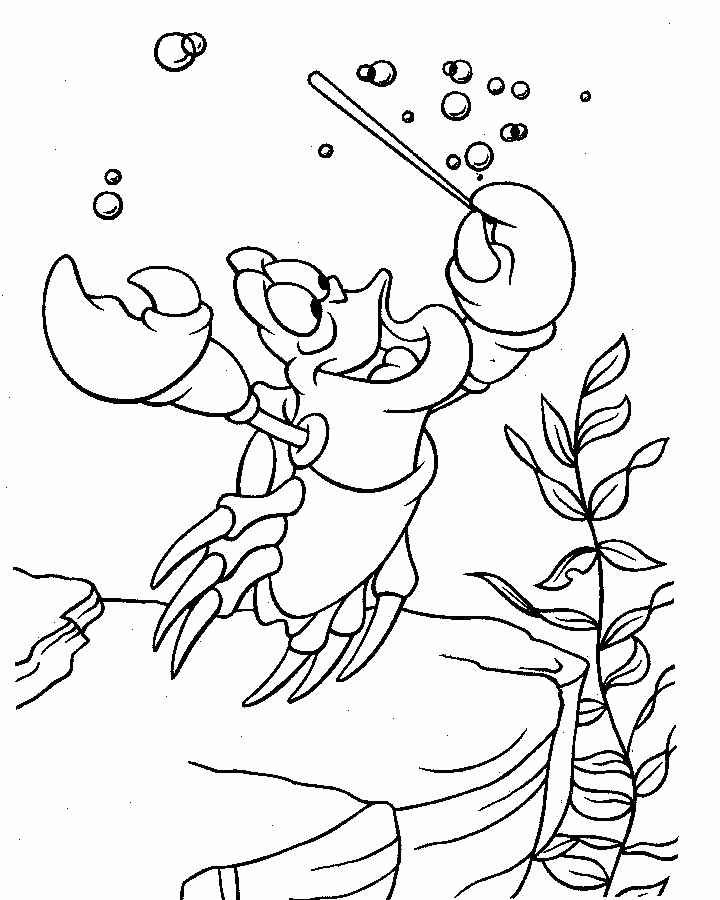 The Little Mermaid Coloring Pages 50
