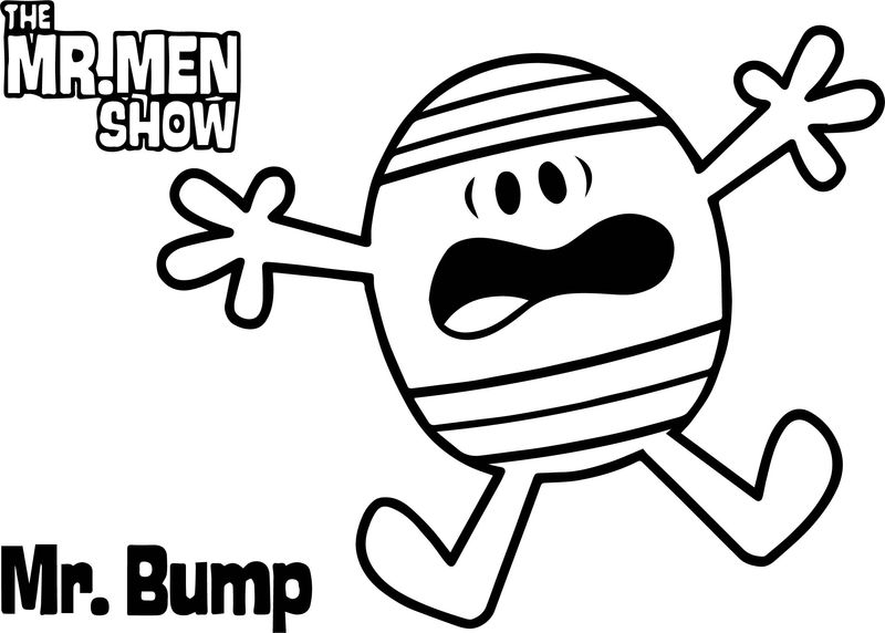The Mr Men Show Cartoon Network Coloring Page Coloring Sheets