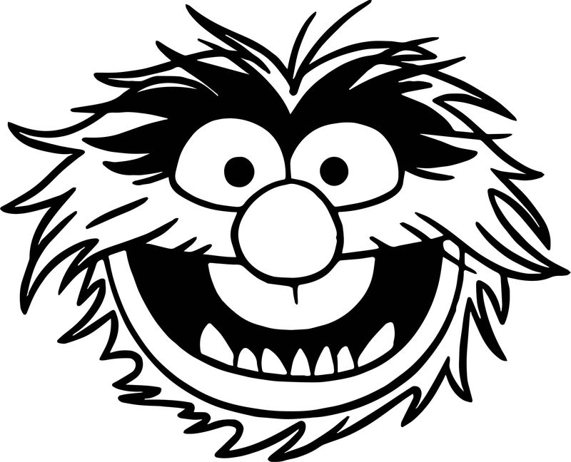 The Muppets Muppets Animal Coloring Pages