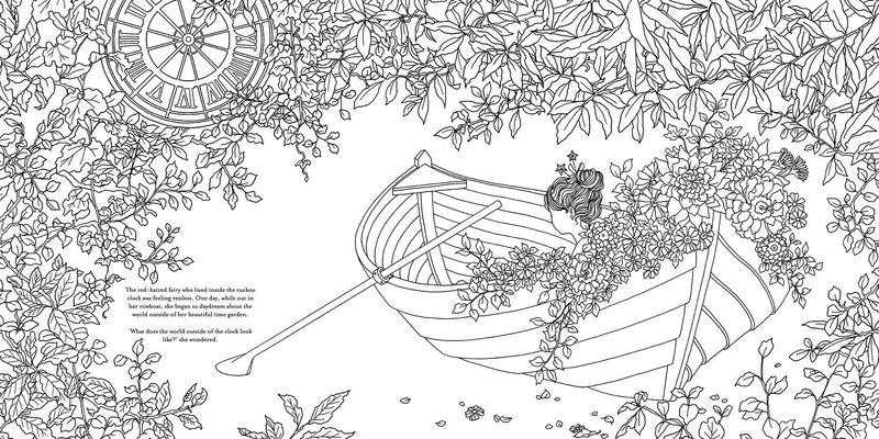 The Time Chamber A Mystical Rowboat Coloring Book