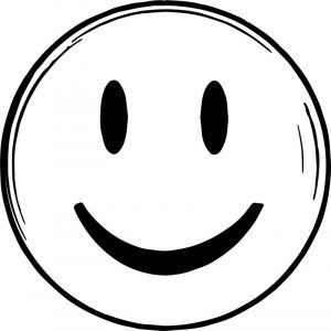 They also bear a remarkable resemblance to a smiley face emoji coloring page