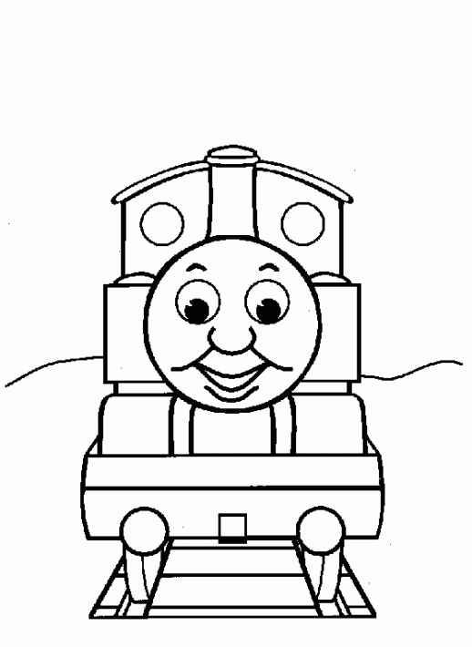 Thomas The Tank Engine And Friends Coloring Pages For Adult