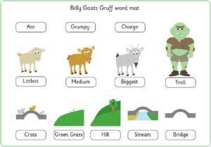 Three billy goats gruff worksheets fun