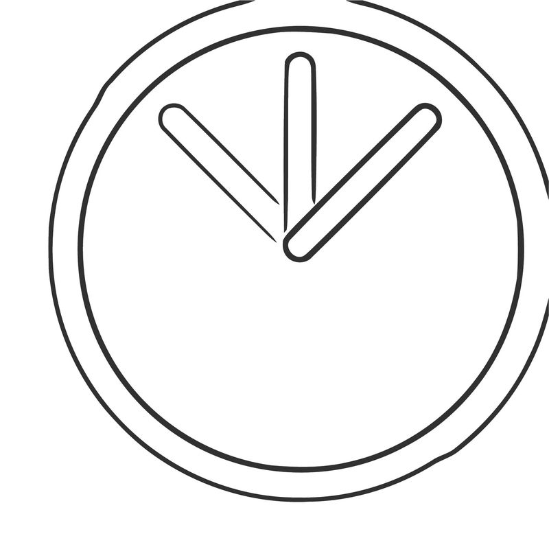 Ticking Clock Frame 8 Free Printable Md Cartoonized Free Printable Coloring Page