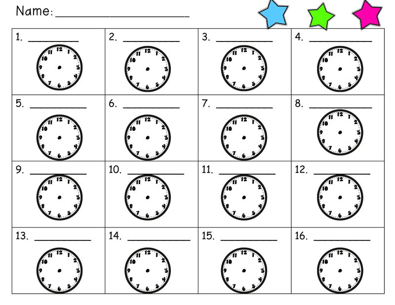 Time Elapsed Worksheets For 2nd Grade