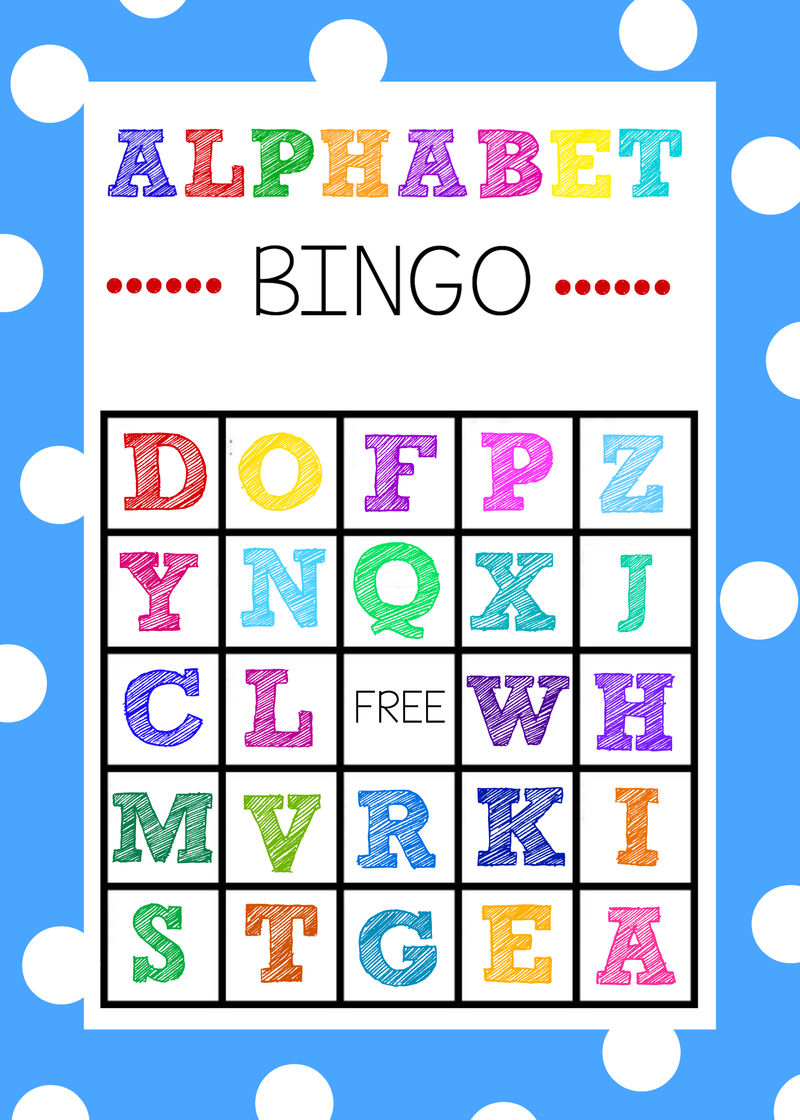 Toddler Learning Activities Printable Free Alphabet