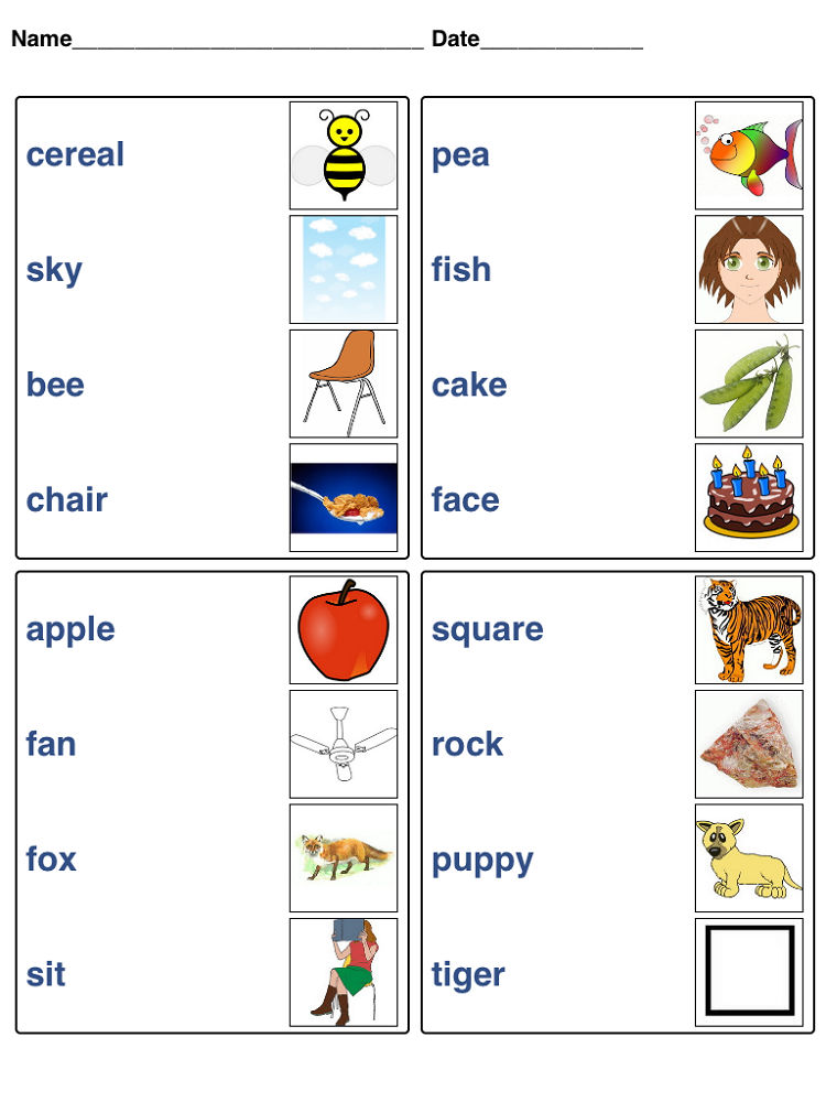 Toddler Learning Activities Printable Free Game