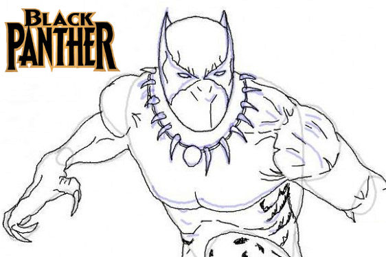 Top Marvel Studio Black Panther Coloring Pages Coloring Sheets