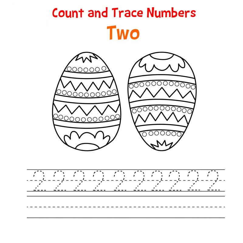 Trace Number 2 Practice 001