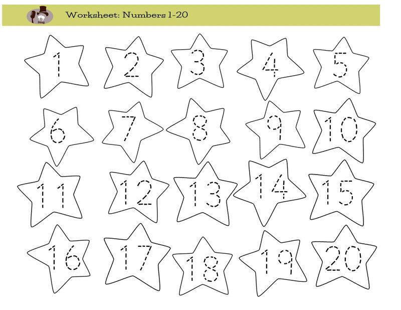 Traceable Numbers Worksheets Free
