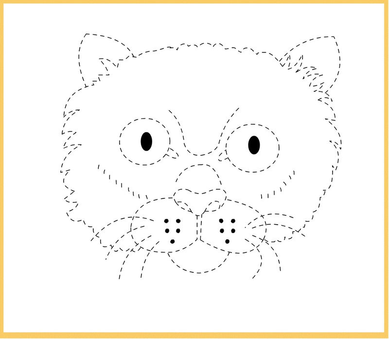 Tracing Pictures For Kids Activity 001
